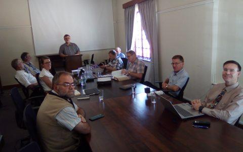 Bijeenkomst van vertalers en redactieleden, jan. 2020
